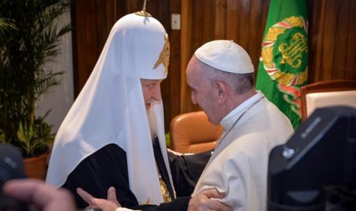 Cuba : le patriarche Cyrille et le Pape François