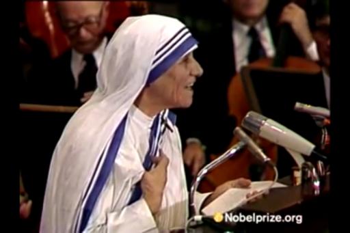 Mère Teresa de Calcutta (1910 – 1997)