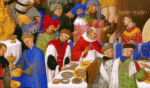 Le repas médiéval de Jeanne en Lumière