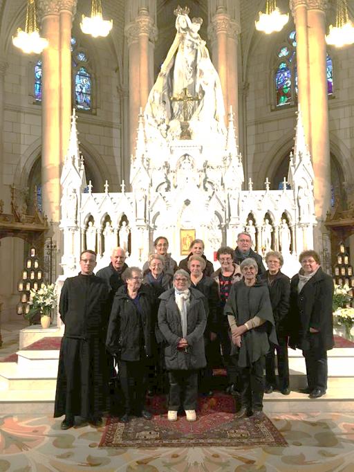Pèlerinage à Notre Dame de Montligeon