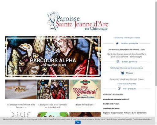 Le Site Paroissial est « relooké »