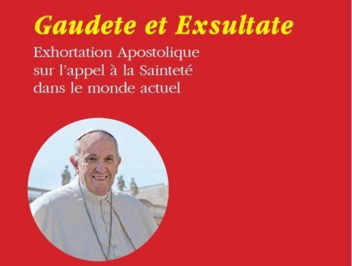 """""""La sainteté est le visage le plus beau de l'Église"""" Exhortation Apostolique du Pape François Gaudete et Exsultate."""