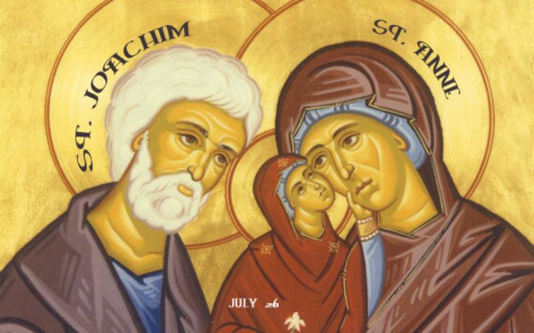 Ste Anne et S. Joachim : « les grands-parents sont un trésor !»