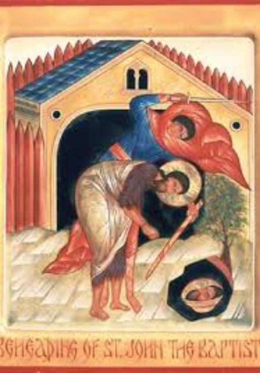 Le martyre de Jean-Baptiste