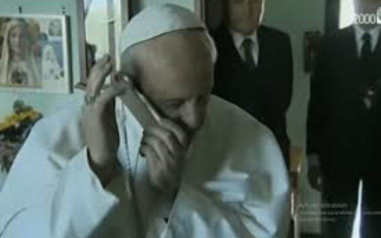 Le Pape téléphone à Mme LAMBERT !