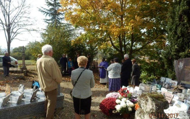 Bénédiction des cimetières