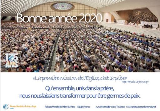Intention de prière du pape François pour le mois de janvier 2020