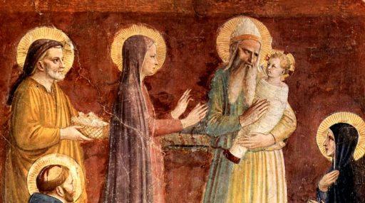 La présentation de Jésus au Temple, journée de la vie consacrée !