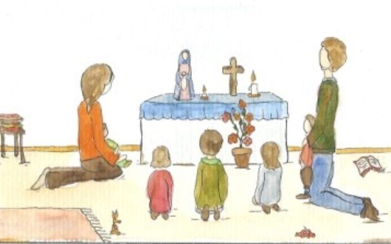 Mois de mai : redécouvrir le chapelet en famille