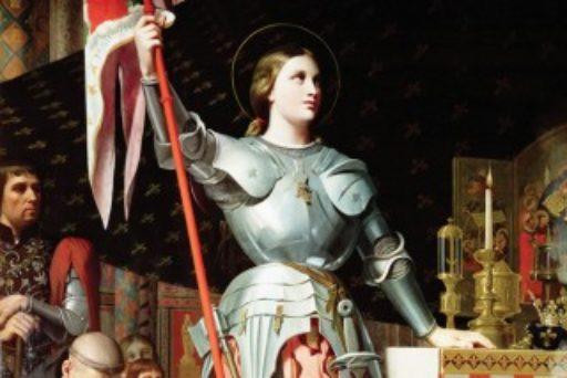 Vidéo-Mapping sur Ste Jeanne d'Arc