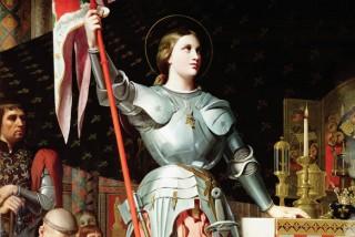 Vidéo-mapping sur Sainte Jeanne d'Arc à l'église St-Étienne