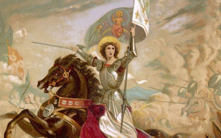 Sainte Jeanne d'Arc, ……