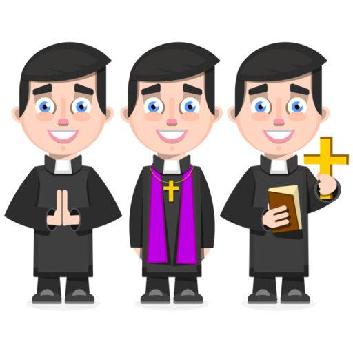 Curé d'une paroisse
