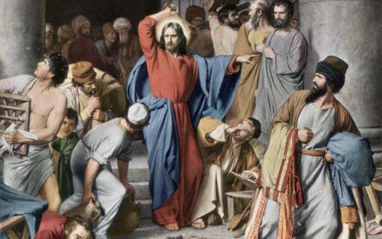 Méditation du 9 novembre 2020 –  Évangile de Jésus-Christ selon Saint Jean (Jn2, 13-22)