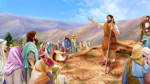 Saint Jean Baptiste, le témoin