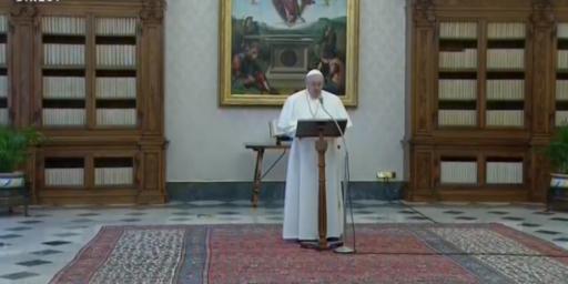 Discours du Pape François aux ambassadeurs                  le 08/02/2021 (extraits)