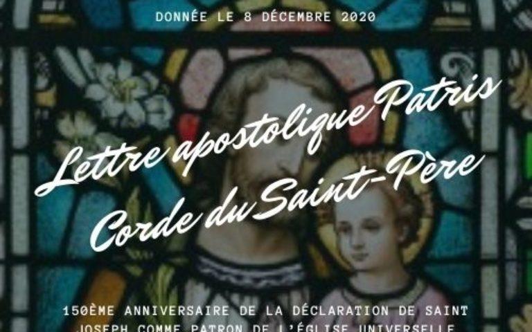 Extrait de la lettre apostolique Patris Corde, 8 décembre 2020