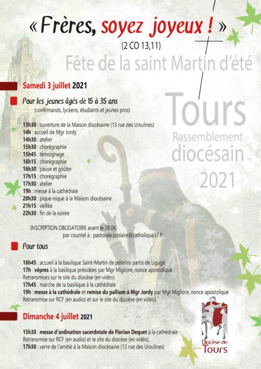 Fête de la saint Martin d'été à Tours